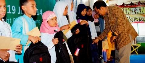 Laporan Penerimaan dan Penggunaan Dana Kegiatan Ramadhan 1435 H